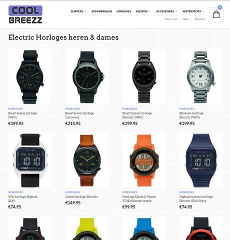 webdesign voor coolbreezz