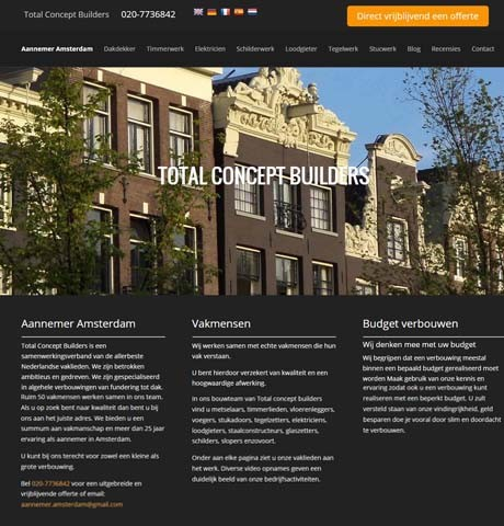 Total Concept builders-Amsterdam