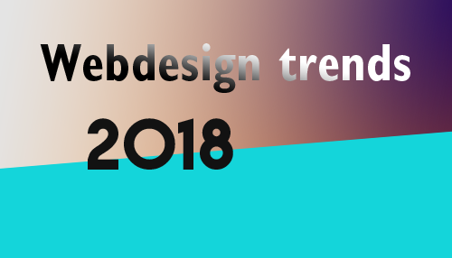 Trends in webdesign 2018