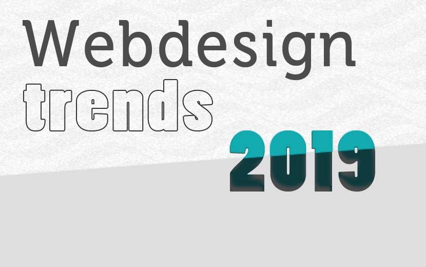 Trends in webdesign 2019