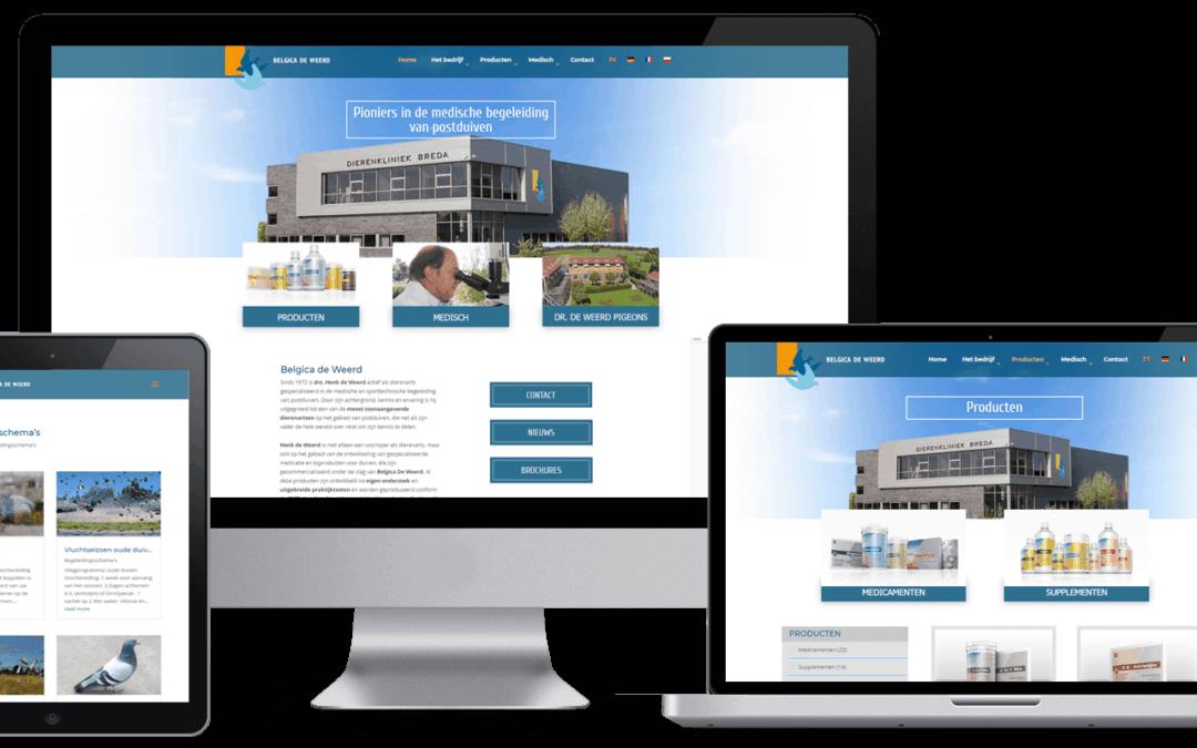 Website Belgica de Weerd